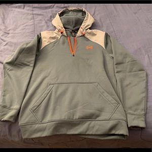 Under Armour 1/4 zip storm hoodie